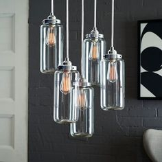 west elm's lighting sale includes lamps, pendant lights and more. Update the home with stylish accents from west elm's lighting sale. Lighting Sale, Home Lighting, Modern Lighting, Chandelier Lighting, Lighting Ideas, Lighting Design, Industrial Chandelier, Contemporary Chandelier, Industrial Lighting