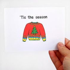 An idea for Ashley's 1st birthday. An ugly sweater party theme.