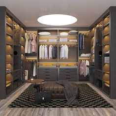 model Price:Poliform Wardrobe model Price: See How Much Jeff Lewis Made on His Most Recent House Flip via See The World's Top 100 Interior Designers For 2019 – Part I Classic Dressing room von Bravo London Ltd closets ideas