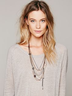 Free People Multi Charm Rosary, €28.61