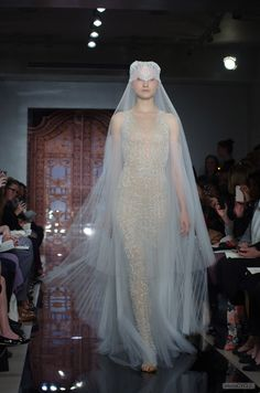 Reem Acra, Bridal Elevated, Avant Garde Wedding Materials, photo by ...