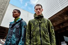 With the spring season fully underway, we continue our series of in-house editorials with a shoot spotlighting Stone Island's Spring/Summer 2015 line.