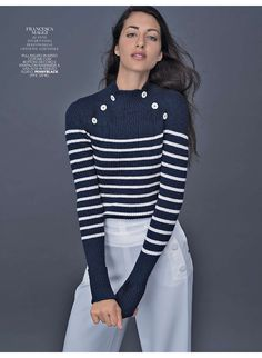 Marie Claire Italy, total look Pennyblack