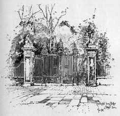 Herbert_Railton_-_Wrought_Iron_Gates,_Gray's_Inn