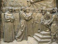 Monumento a San Francesco. Il Cairo, Egitto
