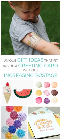 Use these ideas to add a simple, yet memorable, surprise into your next mailed greeting!