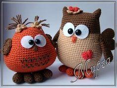 22 ideas for crochet amigurumi owl free knitting patterns Crochet Animal Hats, Crochet Birds, Crochet Flower Patterns, Cute Crochet, Knit Crochet, Owl Patterns, Owl Knitting Pattern, Knitting Patterns Free, Free Knitting