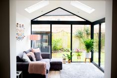 Our Modern Conservatory Extension- Before and After (Home Renovation Project – Livingroom WOW – Living Room Ideas Bungalow Extensions, Garden Room Extensions, House Extensions, Kitchen Extensions, Modern Conservatory, Conservatory Kitchen, Conservatory Furniture Ideas, Conservatory Ideas Sunroom, Conservatory Interiors