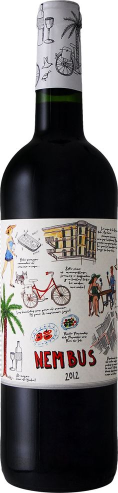Nembus 2012 for all our #wine loving #packaging peeps PD