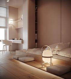 Modern Classic on Behance Home Design, Design Hall, Kids Room Design, Home Interior Design, Design Bedroom, Modern House Design, Modern Interior, Exterior Design, Easy Home Decor