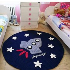 Sizes and colors are available. For order: Inbox plz Whatsapp: 03317884723 Crochet Mat, Crochet Carpet, Crochet Home, Crochet For Kids, Crochet Crafts, Crochet Projects, Sewing Projects, Animal Rug, Knit Rug