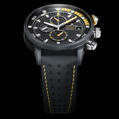 Maurice Lacroix PONTOS S Supercharged CAN YOU HANDLE IT? (See more at En/Fr/Es: http://watchmobile7.com/articles/maurice-lacroix-pontos-s-supercharged) (4/5) #watches #montres #relojes #mauricelacroix @Maurice Mauric Lacroix