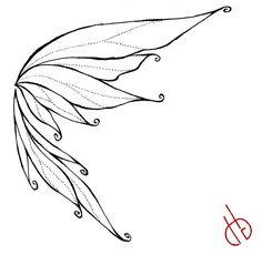 Fairy Wings Drawings | Fairy Wing by ~ bakero-ichiban