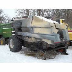 Gleaner N5 combine. Salvaged for used parts. All States Ag Parts. 877-530-4430. http://www.TractorPartsASAP.com