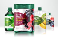 Nature's Own - Rob Clarke Type Design & Lettering