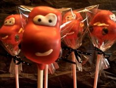 Your favorite cartoons and characters are just a bite away! These true-to-life cake pops bring your favorite characters and creatures, past and present, to life. $