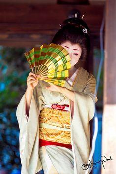 Geiko Katsuru, Kamishichiken Kimono Girl 2 (by SamHawleywood)