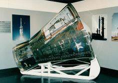 On January 19, 1965, this Gemini 2 spacecraft was launched in the last uncrewed test flight of the Gemini Program. The capsule is on loan to the Air Force Space & Missile Museum, Cape Canaveral, Florida. final frontier, spaceout space