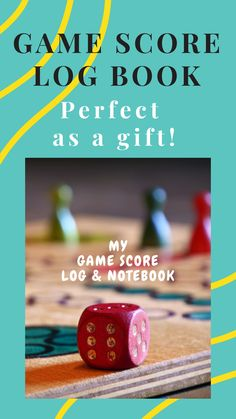 My Game Score Log & Notebook: Track your game scores when playing with other players Fiction Writing, Writing A Book, Book Proposal, Works With Alexa, Weekend Projects, Diy Cleaning Products, I Am Game, Paperback Books, Book Format