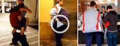 Estos amigos tratan de entrar al cine vestidos como una sola persona. Esto es lo que pasó #viral