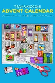 The countdown to the holidays is on! This Team Umizoomi printable advent calendar is a great way to count down the days until Christmas.