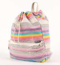 0bcb8ed0abff2 Roxy Pick It Up Stripe Backpack cool style bag