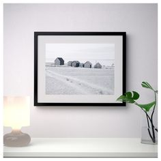 RIBBA Frame, black, Decorate with pictures you love. This frame has classic straight lines and comes in many sizes, perfect for a large picture wall. Ribba Frame, Frames On Wall, Picture Wall, Picture Photo, Large Photo Prints, Midcentury Modern Dining Table, Grandes Photos, Neutral, Frame Template