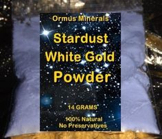 MONATOMIC GOLD *ORMUS* ORME* WHITE POWDER GOLD 14 GRAMS $27.50 Sale!!