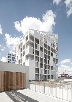 Galería - 131 Viviendas Sociales en Nantes / Antonini   Darmon Architectes - 11