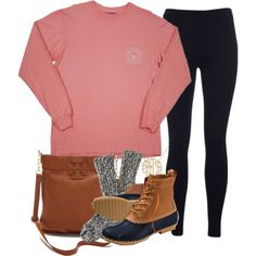 southern shirt company, leggings and bean boots #dearsouthernshirt... this is already in my closet