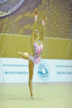 Maria Titova, Rhythmic Gymnastics costume inspiration for Sk8 Gr8 Designs