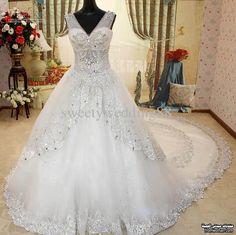 موديلات جريئة لفساتين الزفاف 2016 ،The most beautiful collection wedding dresses fromwoman1458240806563.jpg