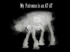 """Found on Pinterest as """"My Patronus has a first name"""" Artist Tim Baker, SMakeupFX, Deviantart. Hollywood, CA."""