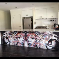 Not your average kitchen. An Australian collector with a huge printed feature of my artwork. INSTAGRAM: instagram.com/artbydocFACEBOOK: facebook.com/artbydocTWITTER: twitter.com/artb...