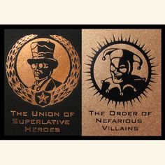 Union of Superlative and Order of Nefarious limited edition book