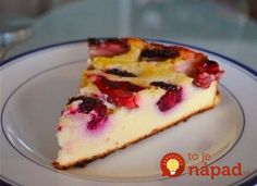 6 najjednoduchších fit receptov z tvarohu A Food, Food And Drink, Gluten Free Recipes, Healthy Recipes, Sweet Tooth, Cheesecake, Cooking Recipes, Yummy Food, Sweets