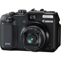Canon PowerShot G12 Digital Camera. I want this for those times when I don't feel like lugging around my big camera.