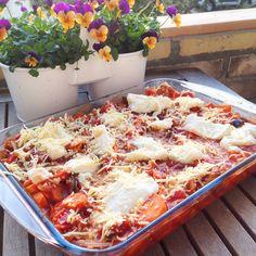 Healthy Living in Heels: Zoete Aardappel Lasagnette