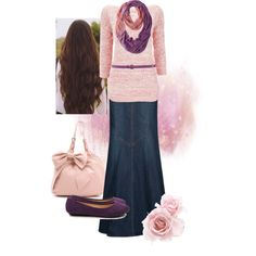 A fashion look from September 2013 featuring Wallis sweaters, MANGO skirts and Wallis flats. Browse and shop related looks.