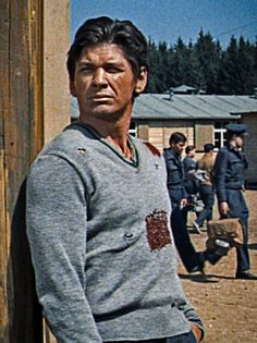 Charles Bronson in The Great Escape 1963