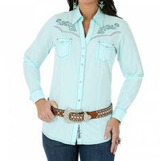 Rock 47 Women's Long Sleeve Western Shirt
