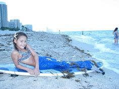 Royal Blue Swimmable Mermaid Tail w/ Monifin by Miamibeachmermaids, $130.00