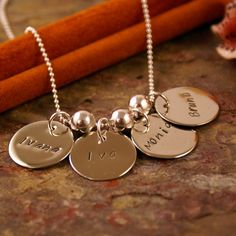 love this one too. #family #names #jewelry
