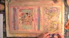 Painting on paper ~ Suzi Dennis
