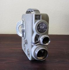 Vintage Eumig 8mm Movie Camera / Retro Home Movie Camera by MidMod, $65.00