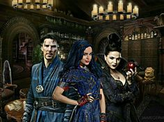 who's the baddest of them all? Descendants Ben, Disney Channel Descendants, Disney Channel Stars, Isle Of The Lost, Sofia Carson, Team Pictures, Modern Disney, Disney Family, Dove Cameron
