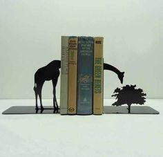 Giraffe Book Holder for my Lion King Theme nursery =)