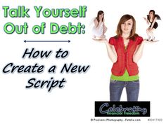 """It's too easy to talk yourself into debt.  """"It's on sale"""" and """"I deserve it"""" aren't a valid excuse!  How to flip the script and revolutionize your finances, now on CFF:   #debt #onsale #ideserveit"""
