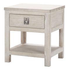 Cancun 1 Drawer Bedside Table | Freedom Furniture and Homewares