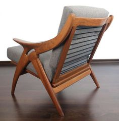 Pair of De Ster Lounge Armchairs, Danish Style | From a unique collection of antique and modern lounge chairs at http://www.1stdibs.com/furniture/seating/lounge-chairs/